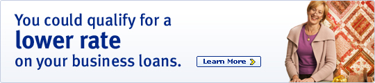 You could qualify for a lower rate on your business loans.