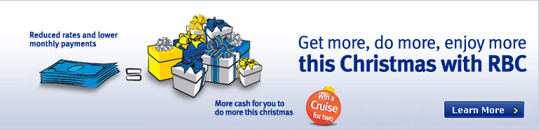 Get more, do more, enjoy more this Christmas with RBC
