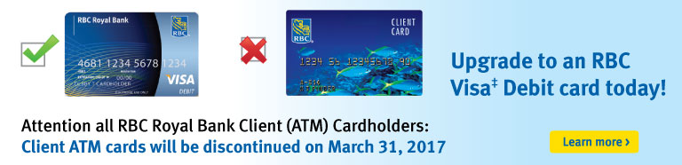 Visa Debit Upgrade