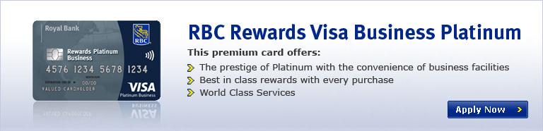 Rbc Rewards Visa Business Platinum This Premium Card Offers The Prestige Of With