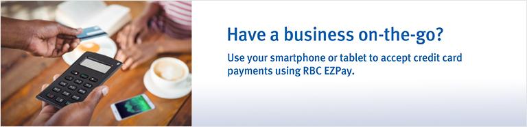 RBC EZPay Mobile Point-of-Sale