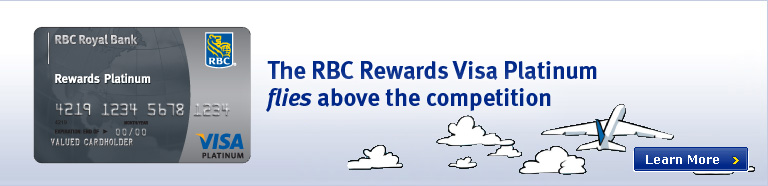 The RBC Rewards Visa Platinum flies above the competition