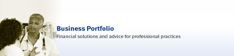 Business Portfolio - Financial solutions and advice for professonal practices