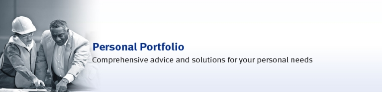 Personal Portfolio - Comprehensive advise and solutions for your personal needs