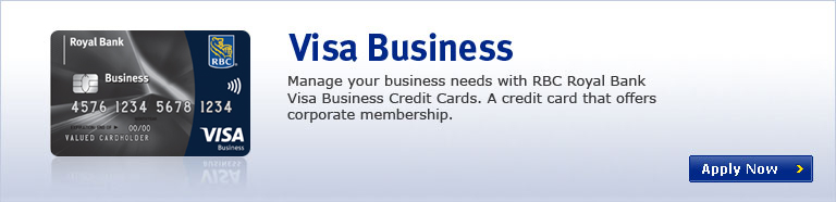 Rbc small business credit card processing best business for Visa small business credit card
