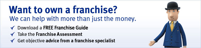 Want to own a franchise? We can help with more than just the money. Download a FREE Franchise Guide. Take the Franchise Assessment. Get objective advice from a franchise specialist