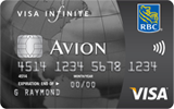 Visa Infinite<sup>&Dagger;</sup> Avion<sup>&reg;</sup>