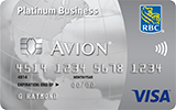 RBC Royal Bank<sup>&reg;</sup> Visa Business Platinum Avion