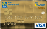 RBC Rewards Visa Gold