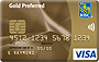Visa Gold Preferred