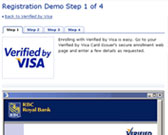 Verified by Visa Registration Demo