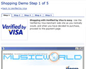 Verified by Visa Shopping Demo