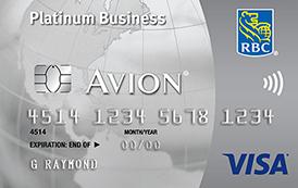 Credit cards rbc royal bank rbc visa business platinum avion reheart Gallery