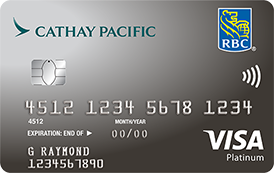 Rbc Cathay Pacific Visa Platinum Rbc Royal Bank