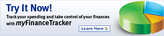 Try It Now! Track your spending and take control of your finances with myFinanceTracker. Learn More.