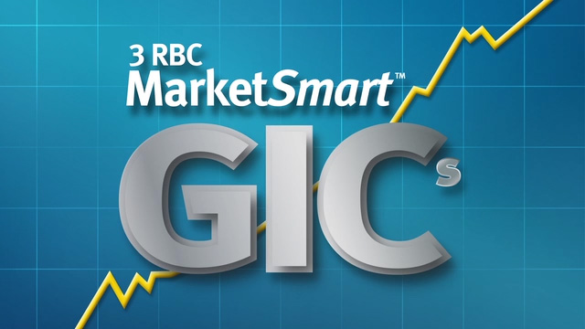 Video: 3 RBC MarketSmart GICs