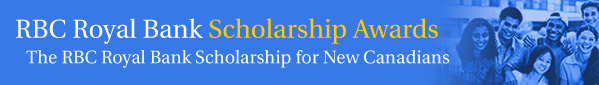 The RBC Royal Bank Scholarships for New Canadians