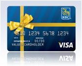 bow card - Custom Visa Gift Cards