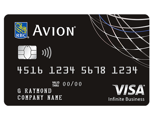 The RBC® Avion® Visa Infinite Business‡