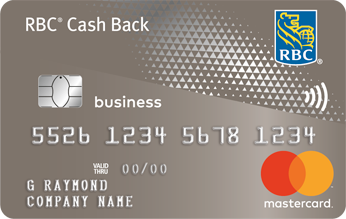 business cash back mastercard rbc royal bank