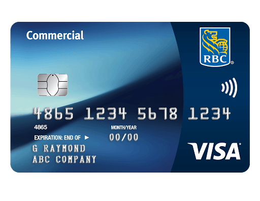 Commercial cash back visa card rbc royal bank commercial cash back visa card reheart Image collections