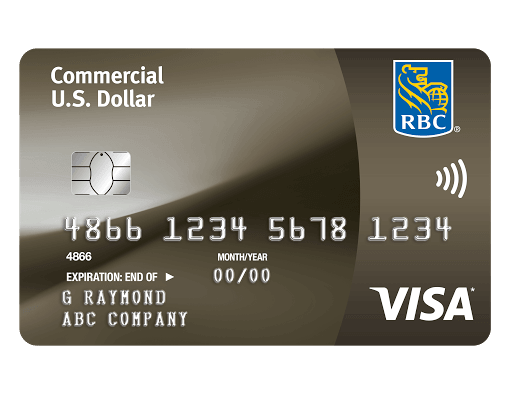 Commercial Us Dollar Visa Card