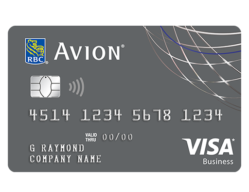The Rbc Visa Business Platinum Avion