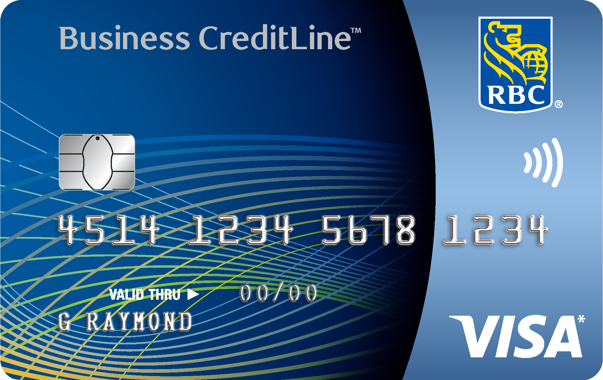 visa creditline card