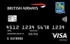 RBC British Airways Visa Infinite