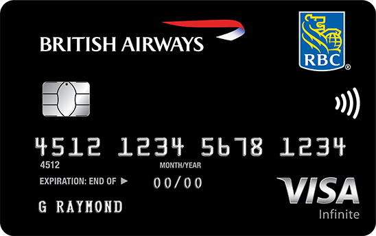 RBC British Airways Visa Infinite