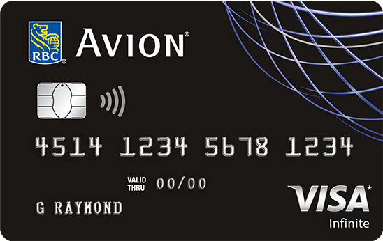 Earn Travel Rewards with the RBC Avion Visa Infinite Credit Card