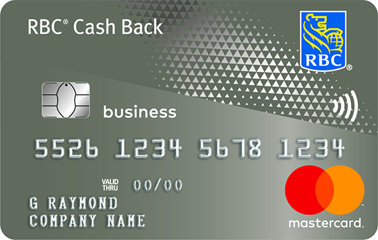 RBC Cash Back Mastercard - RBC Royal Bank