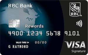 RBC Bank U.S. Credit Card – Visa Signature Black