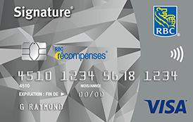 Signature RBC Récompenses Visa