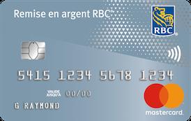 Remise en argent Mastercard RBC