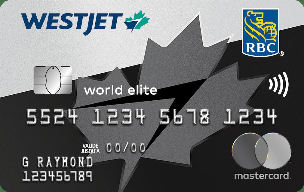 WestJet World Elite Mastercard RBC